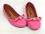 Sapatilha Rosa Pink com Pingente Bico Redondo - Imagem 4