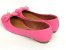 Sapatilha Rosa Pink com Pingente Bico Redondo - Imagem 3