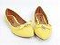 Sapatilha Amarela com Pingente e Lacinho - Imagem 4