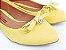 Sapatilha Amarela com Pingente e Lacinho - Imagem 1