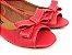 Peep Toe Vermelho com Laço - 3 Pares por 99,90 - Imagem 1