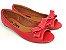 Peep Toe Vermelho com Laço - 3 Pares por 99,90 - Imagem 2