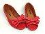 Peep Toe Vermelho com Laço - 3 Pares por 99,90 - Imagem 4