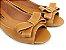 Peep Toe Caramelo com Laço - 3 Pares por 99,90 - Imagem 1