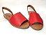 Sandália Rasteira Avarca Vermelha - 3 Pares por 99,90 - Imagem 5
