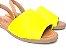 Sandália Rasteira Avarca Amarela - 3 Pares por 99,90 - Imagem 2