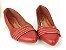Sapatilha Vermelho Queimado Pesponto Frente - Imagem 4