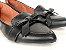 Sapatilha Slipper Preta com Lacinho - Imagem 2