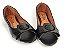 Peep Toe Preta com Fivela Faixa Croco - 3 Pares por 99,90 - Imagem 4