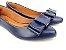 Sapatilha Azul Marinho Laço Retangular - Imagem 2
