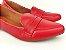 Sapatilha Slipper Vermelha Lisa com Faixa - Imagem 2