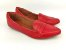 Sapatilha Slipper Vermelha Lisa com Faixa - Imagem 3