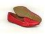 Sapatilha Slipper Vermelha Lisa com Faixa - Imagem 7
