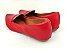Sapatilha Slipper Vermelha Lisa com Faixa - Imagem 4