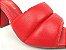 Tamanco Soft Vermelho Ferrari Salto Meio Bloco 9 cm - Imagem 7