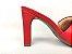 Tamanco Soft Vermelho Ferrari Salto Meio Bloco 9 cm - Imagem 8