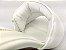 Tamanco Soft Branco Salto Meio Bloco 9 cm - Imagem 2