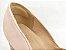 Scarpin Soft Rose Cobra Nude Antique Salto Bloco Quadrado 8 cm - Imagem 3