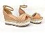 Sandália Soft Nude Antique Flatform Tricot Acolchoada 8 cm - Imagem 3