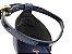 Sandália Soft Azul Marinho Navy Acolchoada Salto Meio Bloco 8 cm - Imagem 8