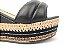Sandália Soft Preta Flatform Tricot Acolchoada 8 cm - Imagem 4