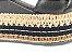Sandália Soft Preta Flatform Tricot Acolchoada 8 cm - Imagem 9