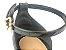 Sandália Soft Preta Flatform Tricot Acolchoada 8 cm - Imagem 3