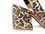 Peep Toe Chanel Animal Print Ouro Salto Bloco Flare 8 cm - Imagem 2