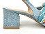 Scarpin Chanel Jeans Claro com Cordão Salto Bloco 6 cm - Imagem 8