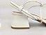 Sandália Tira Fina Luxo Branca Salto Flare 5 cm - Imagem 2