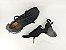 Tênis Chunky Sneaker Preto Clássico Trabalhado em Tecido Solado 5 cm - Imagem 6