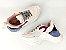 Tênis Chunky Sneaker Branco com Brilho Multicores Solado 5 cm - Imagem 6