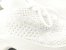 Tênis Chunky Sneaker Branco Trabalhado em Tecido Solado Tratorado 5 cm - Imagem 5