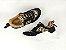 Tênis Chunky Sneaker Oncinha com Preto Solado Branco 5 cm - Imagem 10
