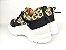 Tênis Chunky Sneaker Oncinha com Preto Solado Branco 5 cm - Imagem 8