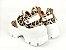 Tênis Chunky Sneaker Animal Print com Solado Branco 6 cm - Imagem 7