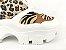 Tênis Chunky Sneaker Animal Print com Solado Branco 6 cm - Imagem 6