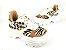 Tênis Chunky Sneaker Animal Print com Solado Branco 6 cm - Imagem 2