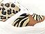 Tênis Chunky Sneaker Animal Print com Solado Branco 6 cm - Imagem 4
