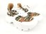 Tênis Chunky Sneaker Animal Print com Solado Branco 6 cm - Imagem 10