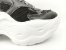 Tênis Chunky Sneaker Preto Clássico Solado Branco 5 cm - Imagem 6