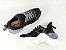Tênis Chunky Sneaker Preto Clássico Solado Branco 5 cm - Imagem 8
