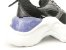 Tênis Chunky Sneaker Preto Clássico Solado Branco 5 cm - Imagem 5