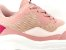 Tênis Chunky Sneaker Tons de Rosa e Rosê Solado Branco 6 cm - Imagem 4