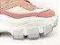 Tênis Chunky Sneaker Tons de Rosa e Rosê Solado Branco 6 cm - Imagem 6