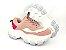Tênis Chunky Sneaker Tons de Rosa e Rosê Solado Branco 6 cm - Imagem 10