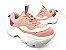 Tênis Chunky Sneaker Tons de Rosa e Rosê Solado Branco 6 cm - Imagem 1