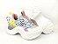 Tênis Chunky Sneaker Colorido Amarração Atrás Solado 5 cm - Imagem 9