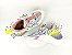 Tênis Chunky Sneaker Colorido Amarração Atrás Solado 5 cm - Imagem 8