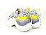 Tênis Chunky Sneaker Colorido Amarração Atrás Solado 5 cm - Imagem 7
